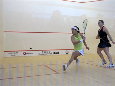 Watch the Stars of Squash in Action at the University of Hull