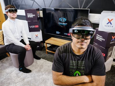 University of Hull and VISR launch the Mixed Reality Accelerator –the world's first Microsoft HoloLens summer school