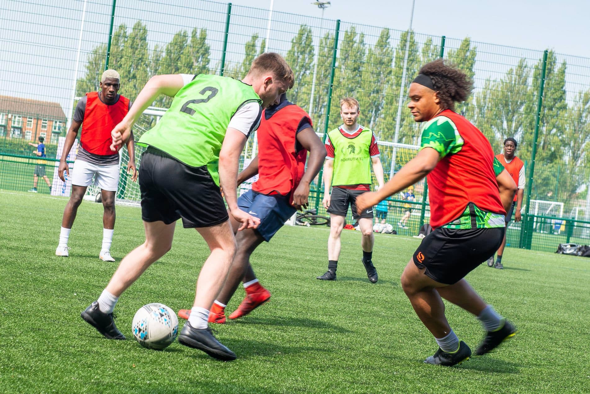 I Am Team GB - Give It A Go Event - Just Play Football