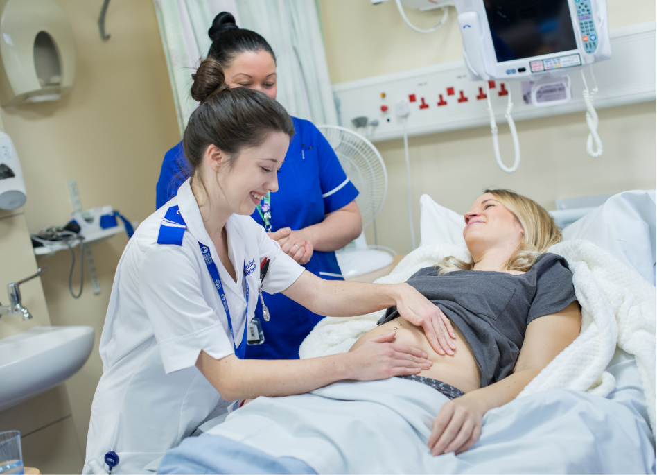 Jess May Student Midwife at Hull Women and Children's Hospital