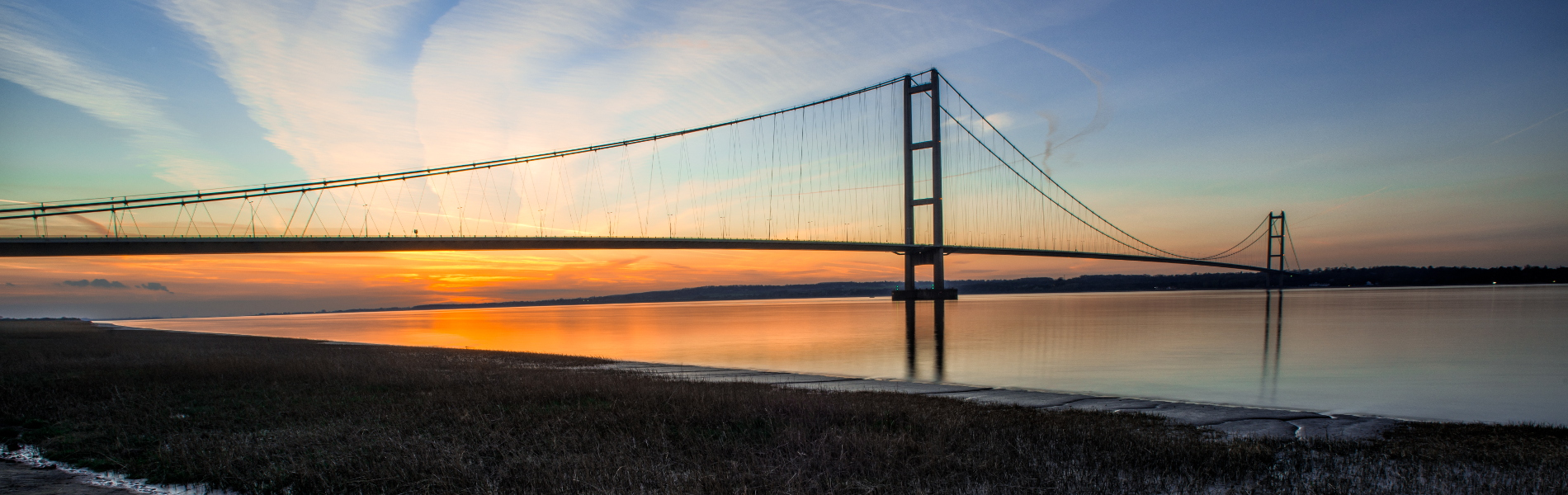 humber-bridge-sunset
