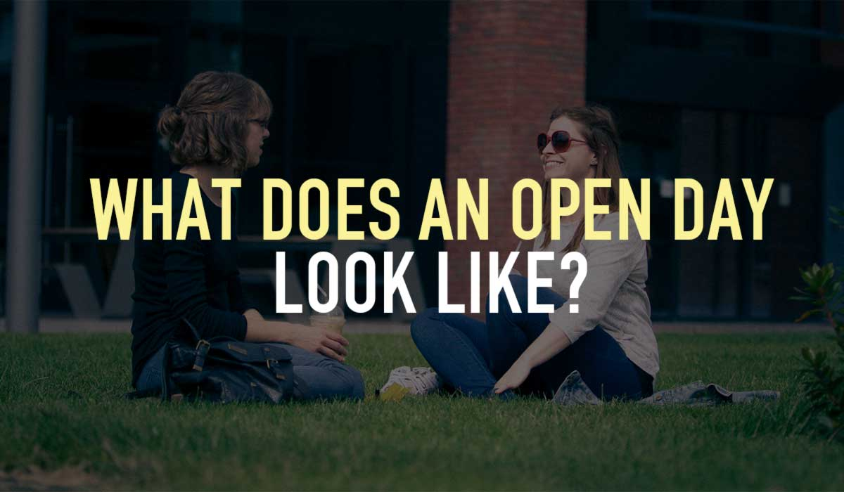 What does an open day look like?