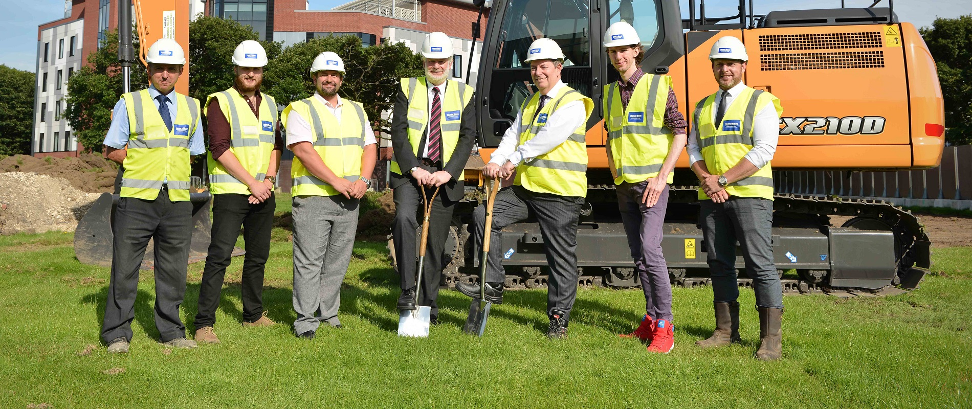 Ground broken on new sports centre
