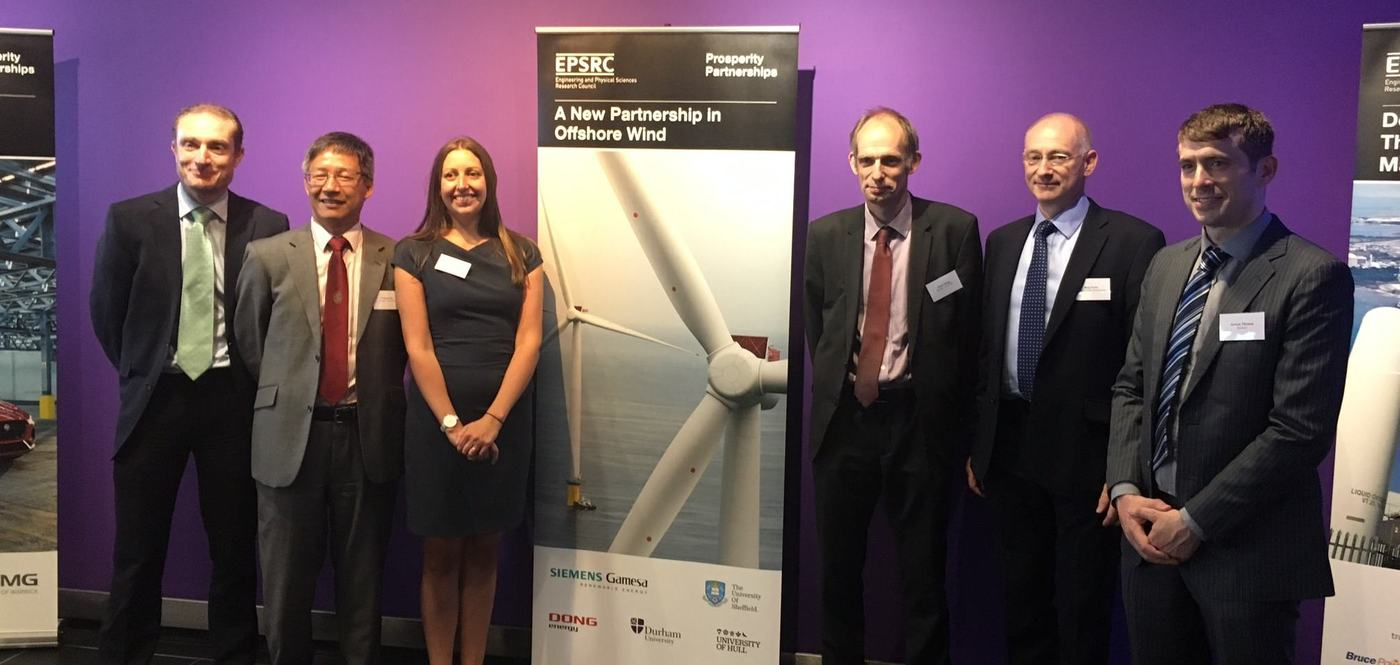 University in £7.6 million partnership to develop wind power technology for the future
