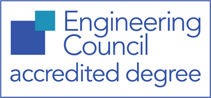 This course is Engineering Council-accredited