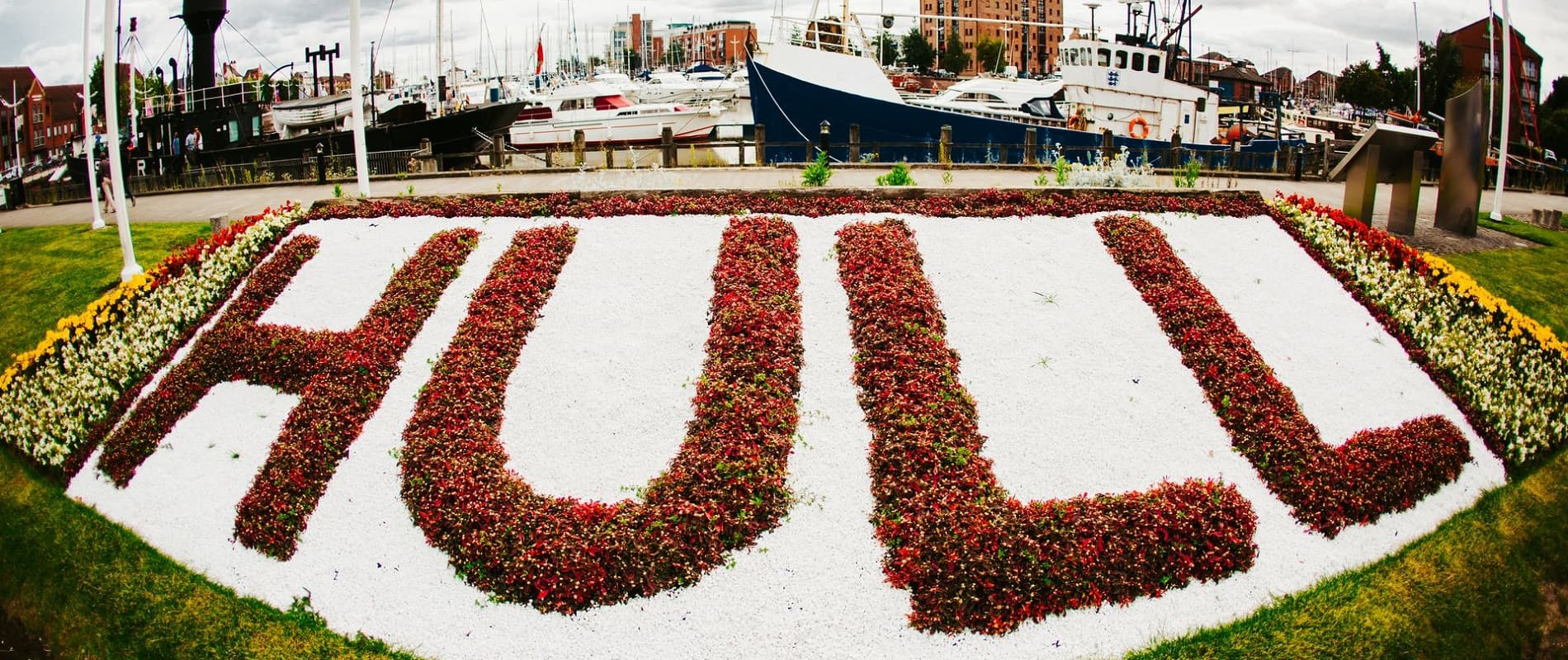 Hull Marina Flower Bed -289 1900x800