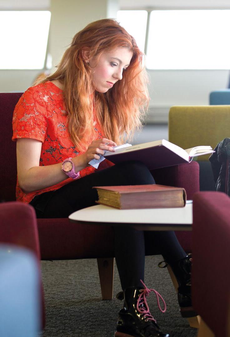 Creative Writing and English in Library