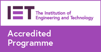 This degree is IET-accredited