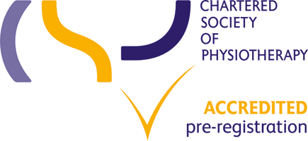 This course is Chartered Society of Physiotherapy (CSP) accredited