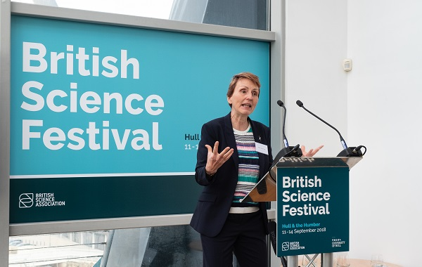 british science festival launch 600x380