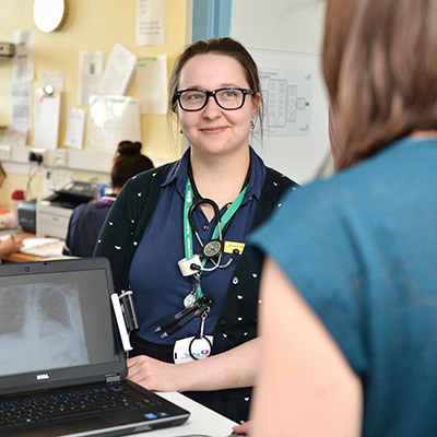 Hull York Medical School junior doctor at Hull Royal Infirmary