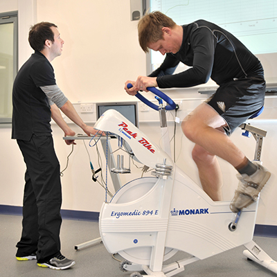 Excercise Physiology Labatoratory cycling
