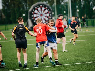Lions' tour manager officially opens University's international-standard rugby pitch