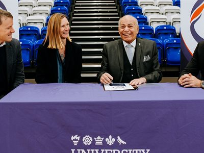 University benefactor Dr Assem Allam announces deal to hold world squash tournament at University of Hull