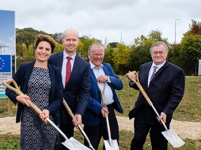Breaking ground for Humber low-carbon energy innovation centre in time for Green Great Britain Week