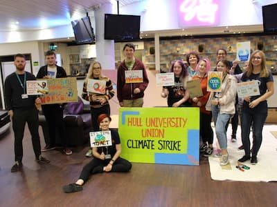 University of Hull students join global climate strike