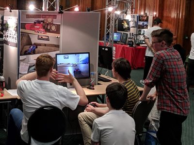 Students compete at largest ever Game Republic showcase at University of Hull