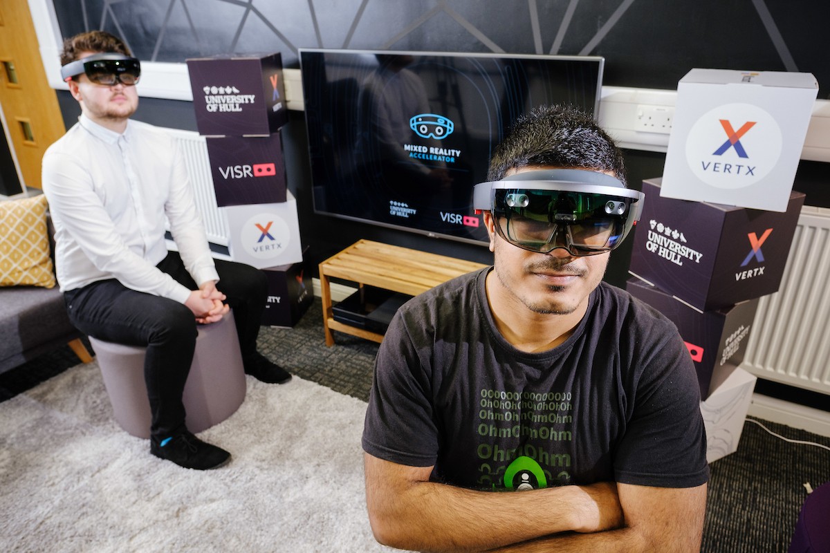 University of Hull and VISR launch the Mixed Reality