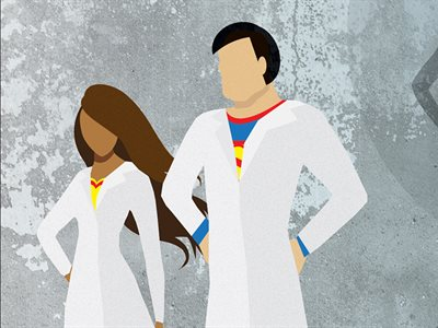 Scientists write superhero book in a weekend