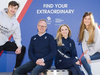 University of Hull announced as Official University Partner for Team GB