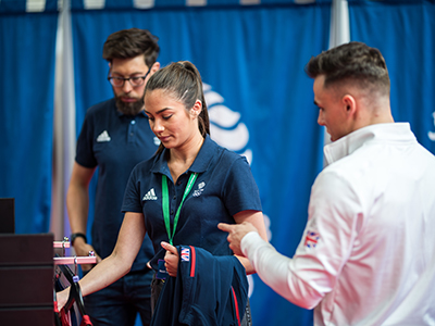 University of Hull students help Team GB athletes get kitted out ahead of European Games