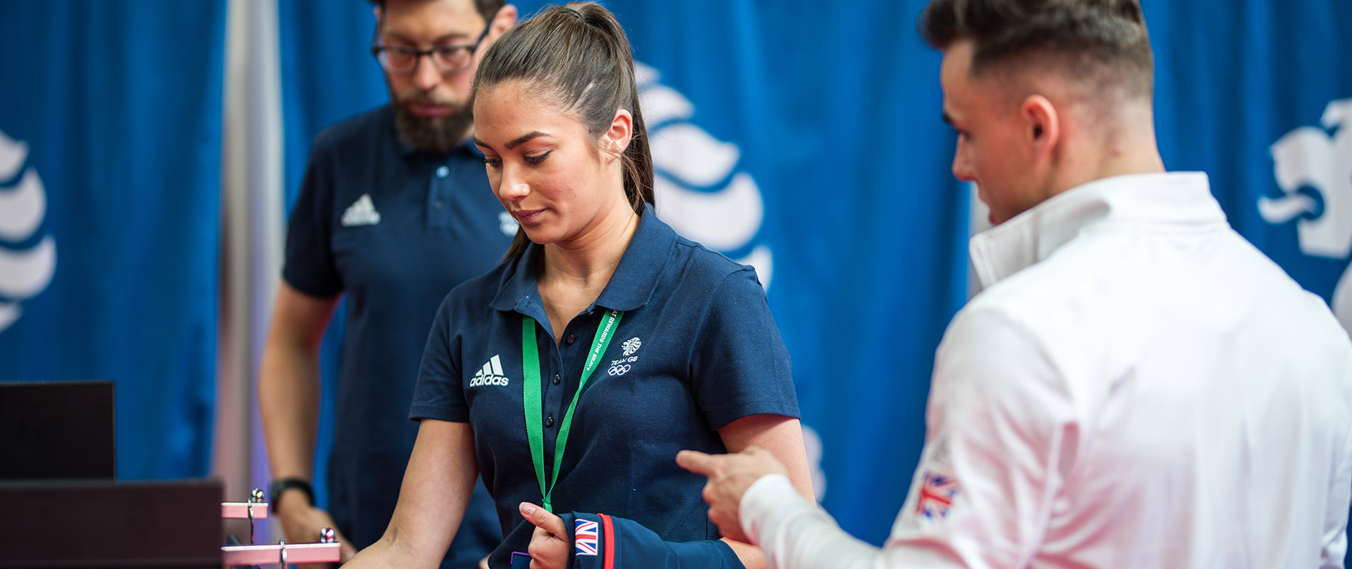 University of Hull students help Team GB athletes get kitted out