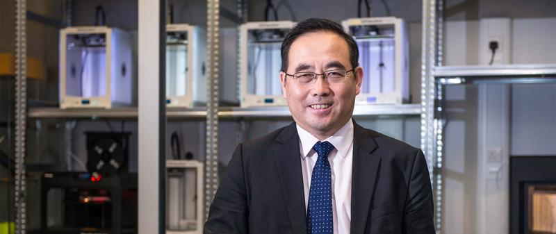 Professor Xudong Zhao, Director of the Centre for Sustainable Energy Technologies at the University of Hull